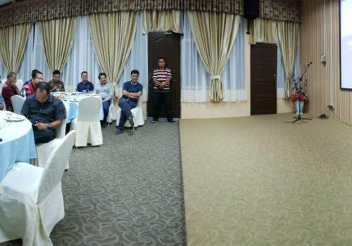 Rektor Zailuddin Hidangkan Suasana Malam ke Dosen UIR di UiTM Perlis