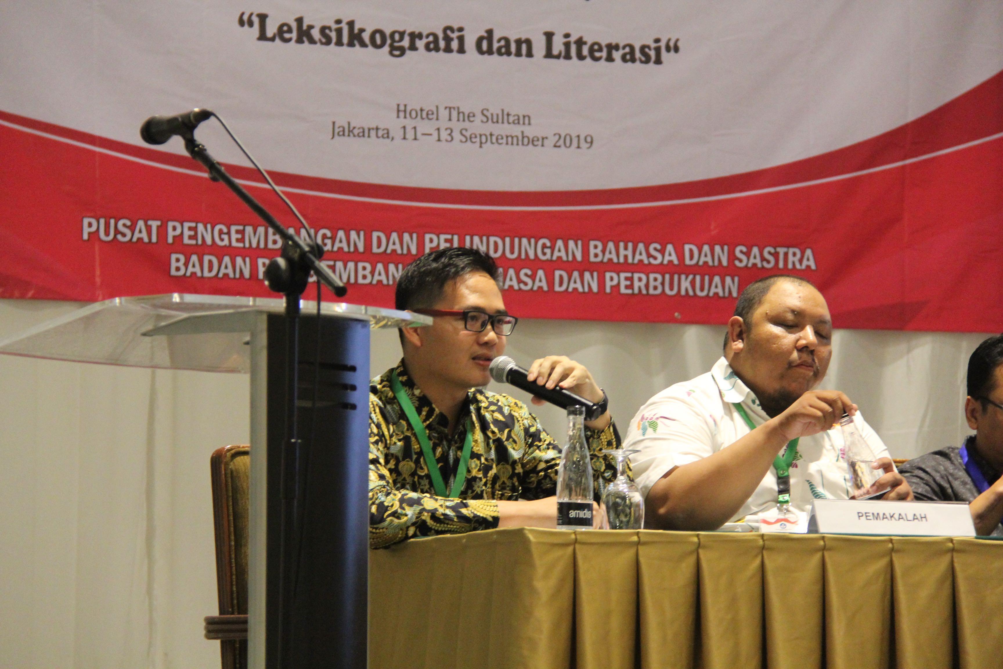 """Seminar Leksikografi Indonesia 2019 """"Leksikografi dan Literasi Dalam Revolusi Industri 4.O"""""""
