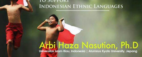 Workshop ISETiD Indonesian Ethnic Languages